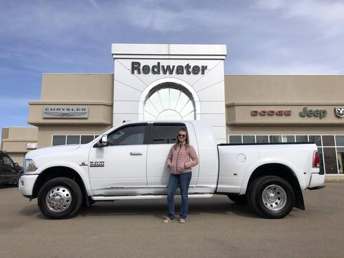 2018_Ram_3500_Limited Mega Cab Dually - Cummins Diesel - AISIN - 4.10 Gear Ratio - Sunroof - Low Km - One Owner_ Redwater AB