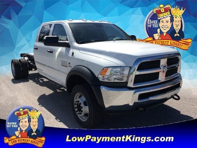 2018 Ram 4500 Chassis Cab TRADESMAN CHASSIS CREW CAB 4X4 197.4 WB""