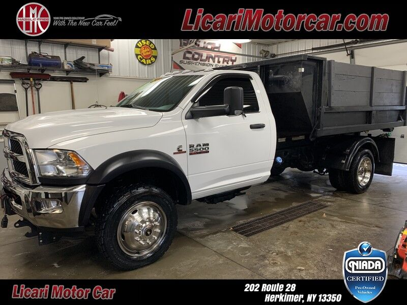 2018 Ram 5500 Chassis Cab SLT Herkimer NY