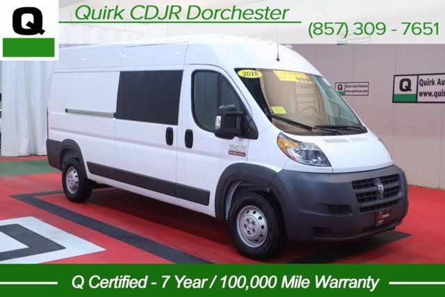 2018 Ram ProMaster Cargo Van BASE Boston MA