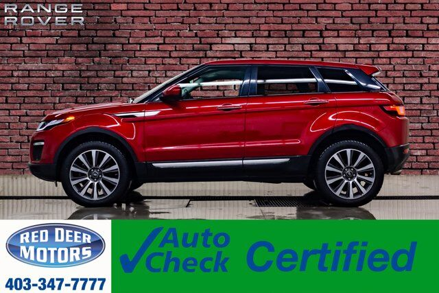2018 Range Rover Evoque AWD HSE Leather Roof Nav BCam Red Deer AB