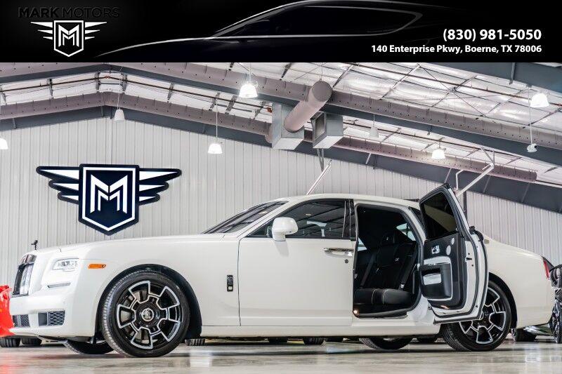 2018_Rolls-Royce_Ghost_Black Badge - ICED ENGLISH WHITE_ Boerne TX