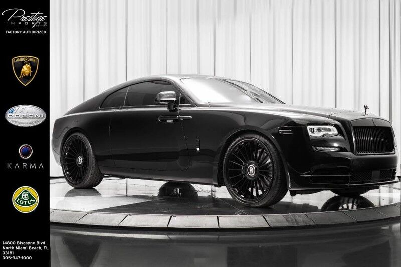 2018_Rolls-Royce_Wraith__ North Miami Beach FL