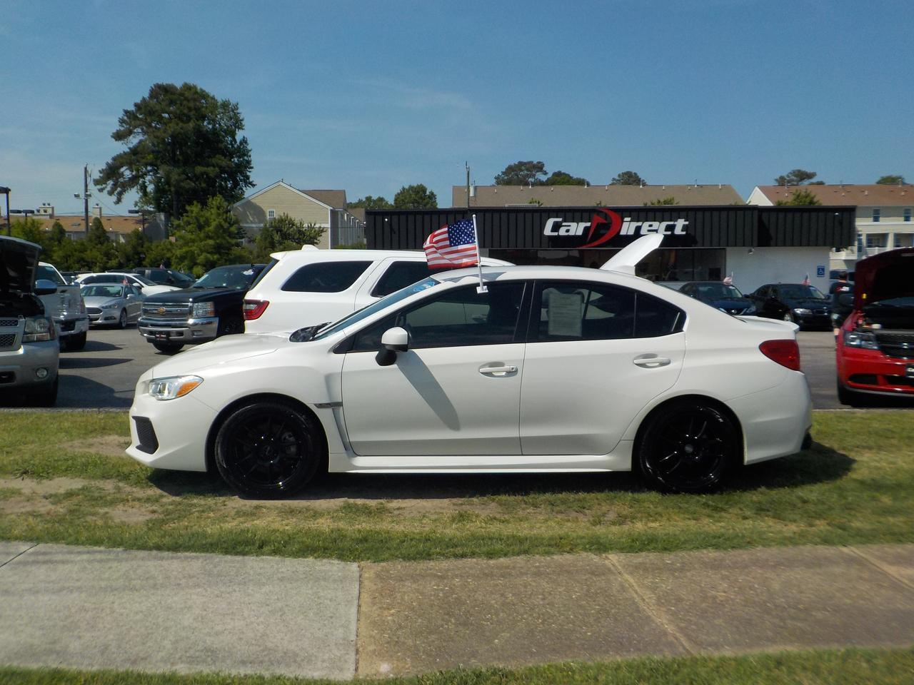 2018 SUBARU WRX 6-SPEED AWD, REAR SPOILER, BACKUP CAMERA, TINTED WINDOWS, BLUETOOTH WIRELESS, AUXILIARY PORT! Virginia Beach VA