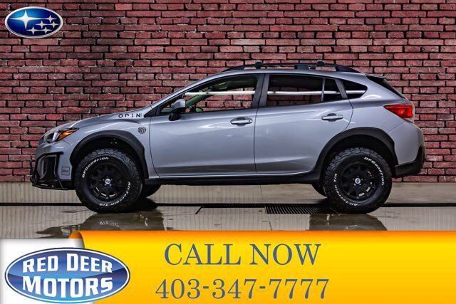 2018 Subaru Crosstrek AWD Sport Manual Lift Wheels Roof BCam Red Deer AB