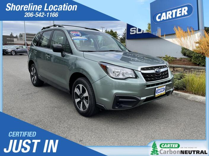 2018 Subaru Forester  Seattle WA