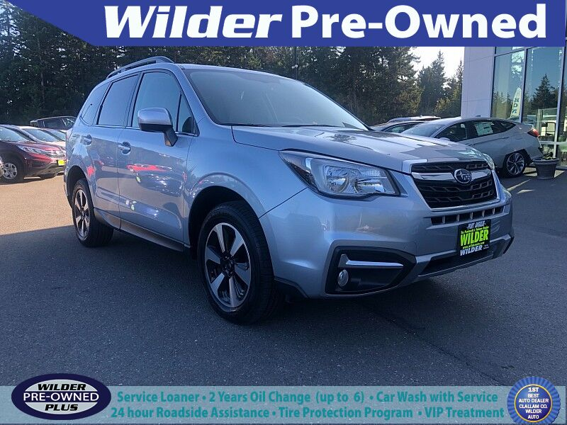2018 Subaru Forester 4d SUV 2.5i Limited Port Angeles WA