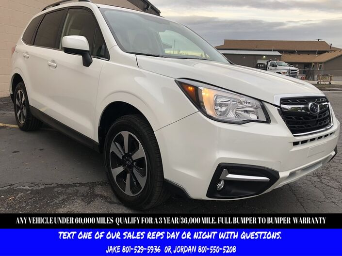 2018 Subaru Forester Limited Salt Lake City UT
