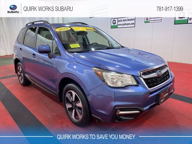 2018 Subaru Forester Premium Black Edition Braintree MA