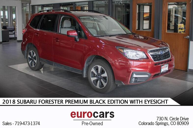 2018 Subaru Forester Premium Black Edition w/EyeSight Colorado Springs CO