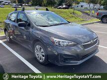 2018 Subaru Impreza 2.0I South Burlington VT