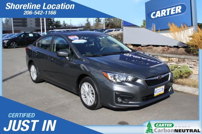 2018 Subaru Impreza Premium Seattle WA