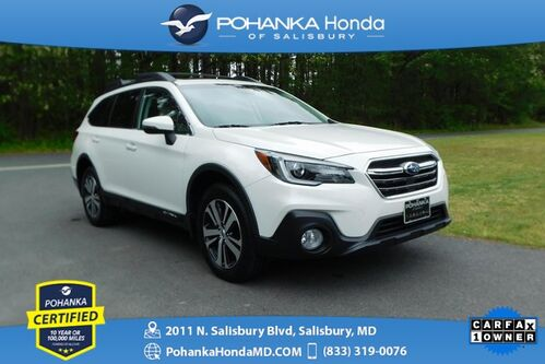 2018_Subaru_Outback_2.5i Limited AWD ** Pohanka Certified 10 Year/100,000_ Salisbury MD