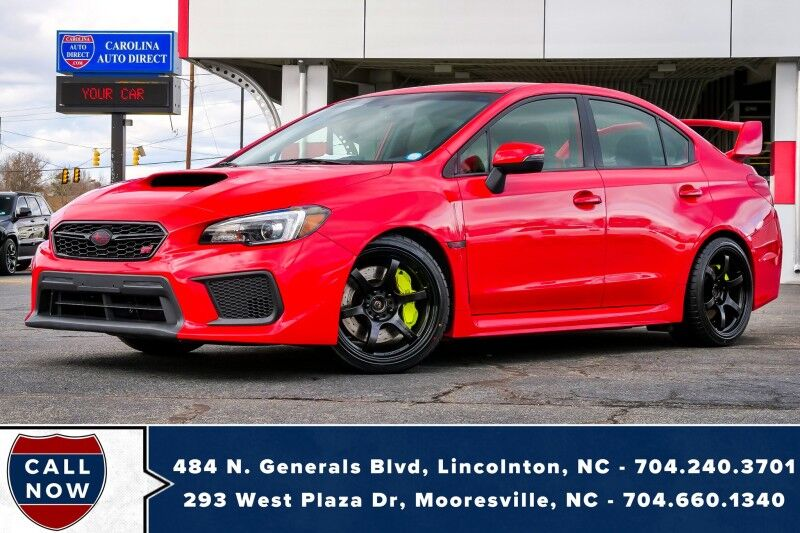 2018 Subaru WRX STI AWD *MANUAL*New Tires* w/ Coilovers & Rays Wheels Mooresville NC