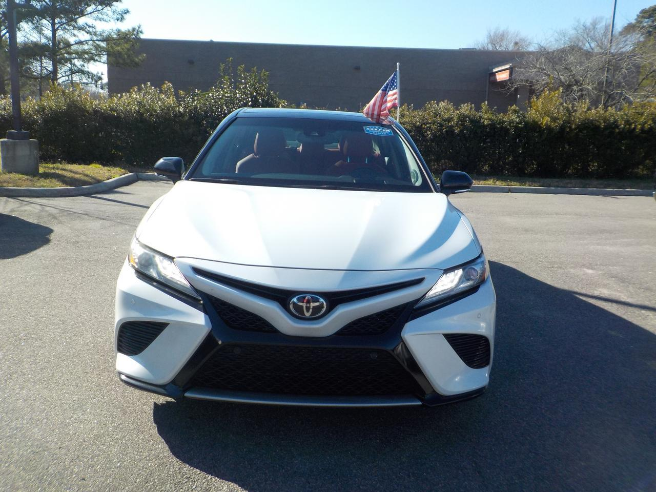 2018 TOYOTA CAMRY XSE FWD, ONE OWNER, PANO ROOF, HEATED LEATHER SEATS, BACKUP CAMERA, BLUETOOTH, ONLY 65K MILES! Virginia Beach VA