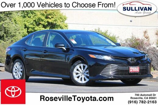 2018 TOYOTA Camry LE Roseville CA