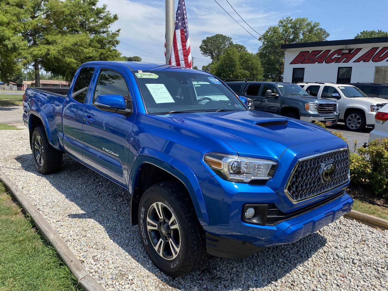 2018 TOYOTA TACOMA TRD SPORT ACCESS CAB 4X4, WARRANTY, MANUAL, NAV, BLUETOOTH, SIRIUS RADIO, BACKUP CAM, 1 OWNER,CLEAN! Norfolk VA
