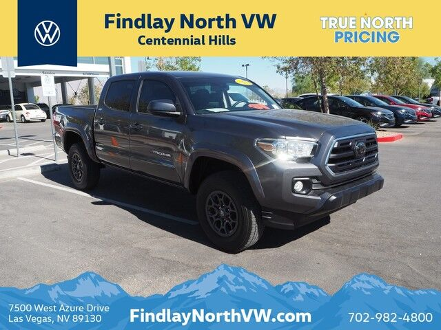 2018 TOYOTA TACOMA TRD SPORT DOUBLE CAB 5' BED V6 4X2 AT Las Vegas NV