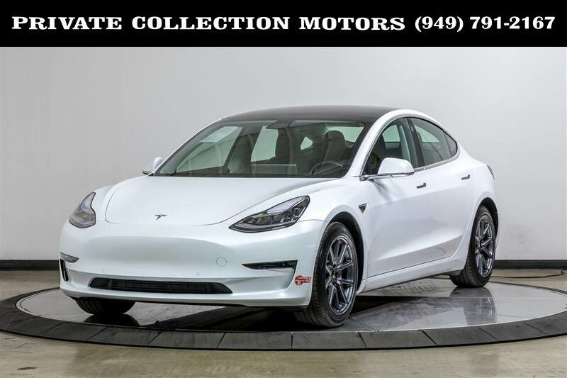 2018_Tesla_Model 3_Long Range Battery Full Self-Driving Capability_ Costa Mesa CA