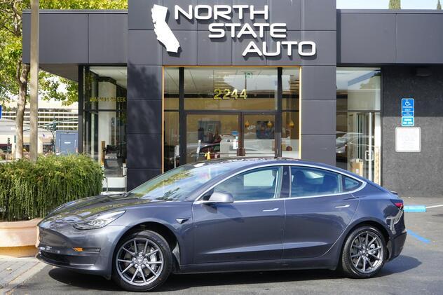 2018_Tesla_Model 3_Long Range Battery_ Walnut Creek CA
