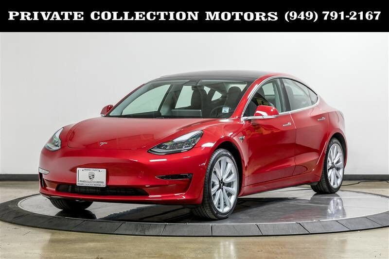 2018_Tesla_Model 3_Long Range Enhanced Autopilot_ Costa Mesa CA