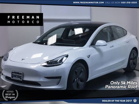 2018_Tesla_Model 3_Long Range Only 5k Miles Panoramic Roof Nav_ Portland OR