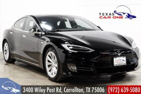 2018_Tesla_Model S_75D AWD NAVIGATION PANORAMA LEATHER HEATED SEATS REAR CAMERA_ Carrollton TX