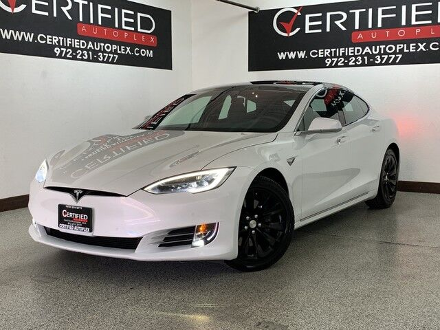2018 Tesla Model S 75D AWD NAVIGATION PANORAMIC ROOF REAR CAMERA PARK ASSIST LANE ASSIST BLIND