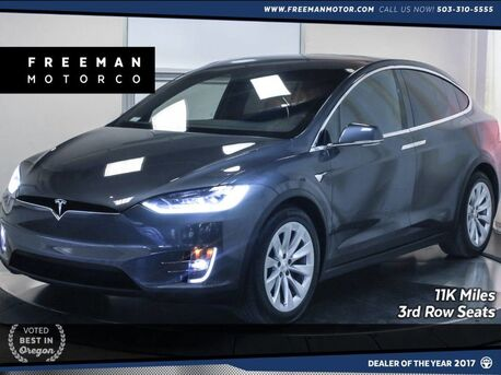 2018_Tesla_Model X_75D 6-Passenger 3rd Row Seating Tow Package_ Portland OR