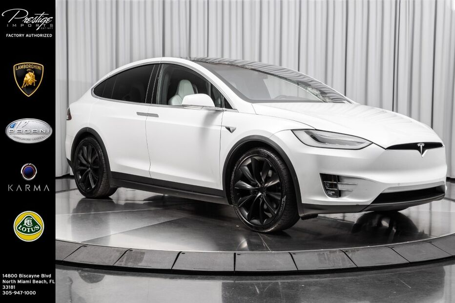2018_Tesla_Model X_75D AWD_ North Miami Beach FL