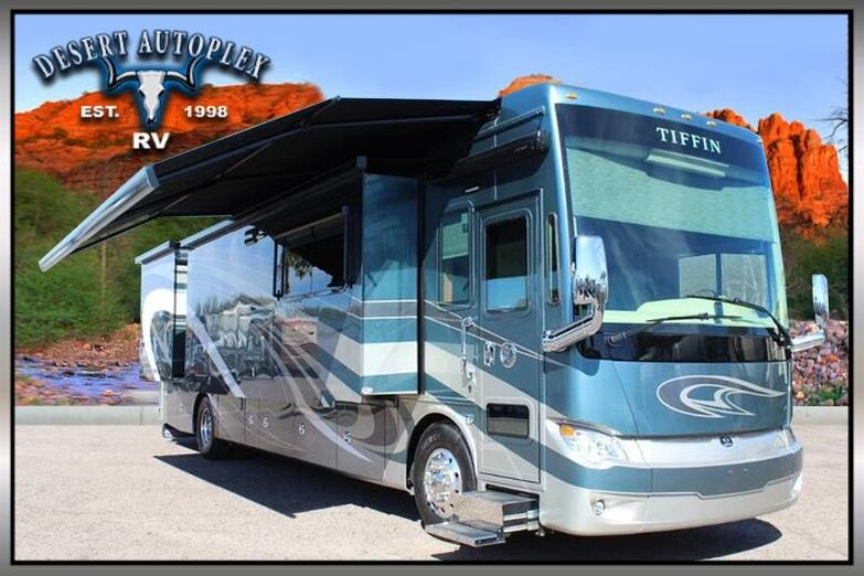 2018 Tiffin Allegro Bus 40AP Quad Slide Class A Diesel RV Treated w/Cilajet Anti-Microbial Fog Mesa AZ