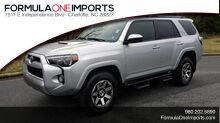 2018_Toyota_4RUNNER_TRD OFF-ROAD 4X4 / V6 / AUTO / LEATHER / LOW MILES!_ Charlotte NC