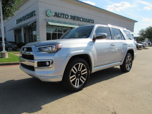 2018 Toyota 4Runner Limited 2WD V6 LEATHER, 3RD ROW SEATS, HTD/CLD FRONT SEATS, NAVIGATION Plano TX