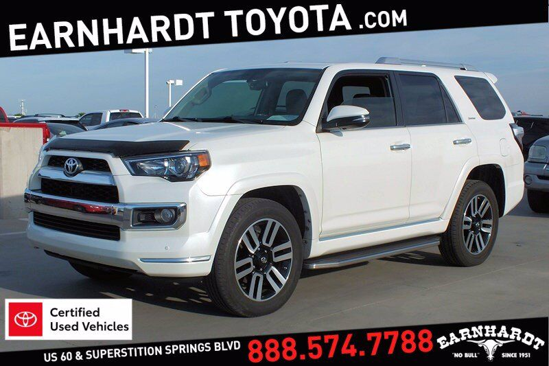 2018 Toyota 4Runner Limited 4WD *1-OWNER* Mesa AZ