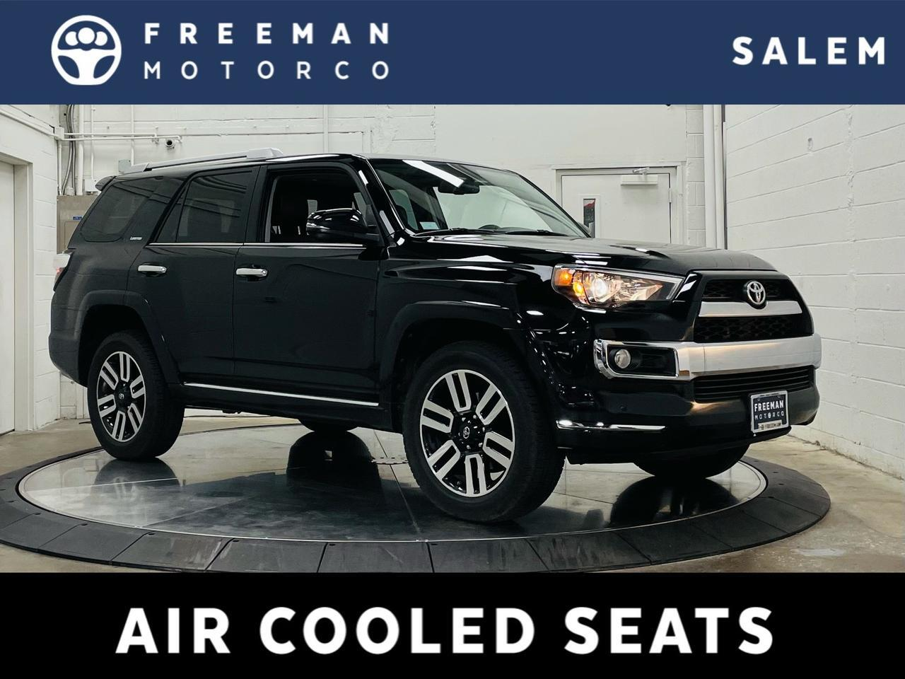 2018 Toyota 4Runner Limited 4WD Heated/Ventilated Seats