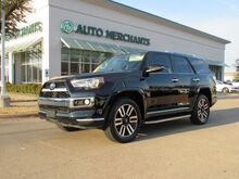 2018_Toyota_4Runner_Limited 4WD V6 NAVIGATION, HTD/CLD SEATS, BACKUP CAMERA, BLUETOOTH CONNECTIVITY, PUSH BUTTON START_ Plano TX
