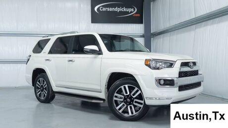 2018 Toyota 4Runner Limited Dallas TX
