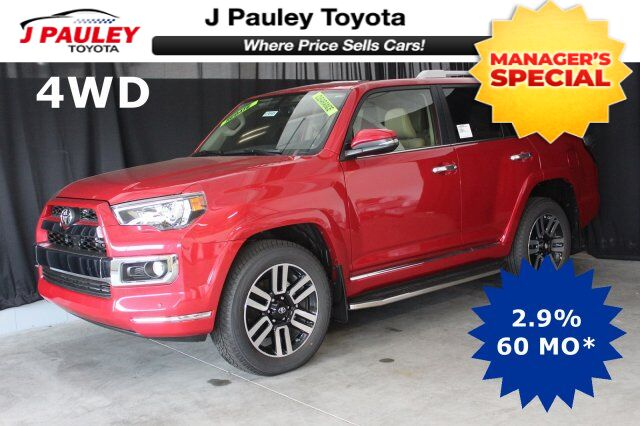 2018 Toyota 4Runner Limited Model Year Closeout! Fort Smith AR