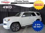 2018 Toyota 4Runner Limited Model Year Closeout!
