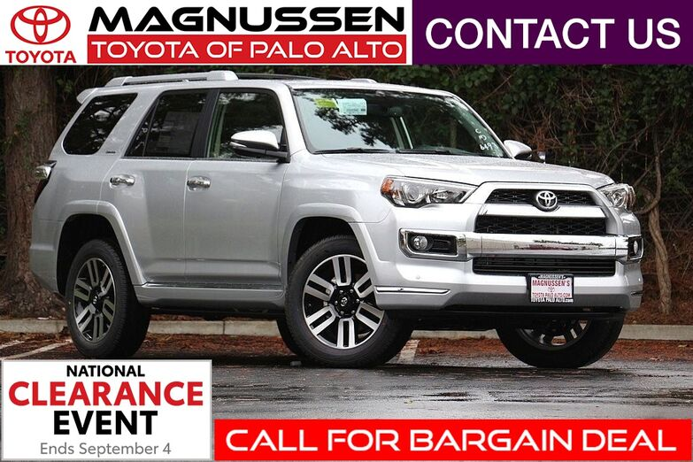 2018 Toyota 4Runner Limited Palo Alto CA