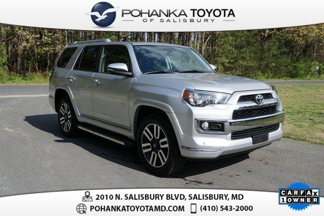 2018 Toyota 4Runner Limited Salisbury MD