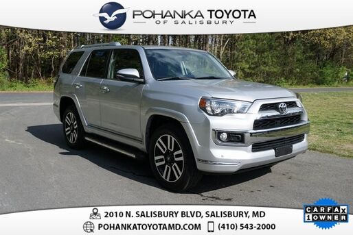 2018_Toyota_4Runner_Limited_ Salisbury MD