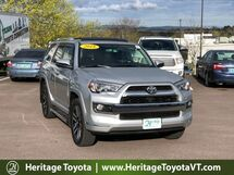2018 Toyota 4Runner Limited South Burlington VT