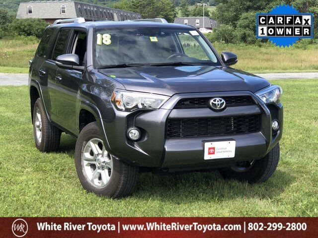 2018 Toyota 4Runner SR5 Premium White River Junction VT