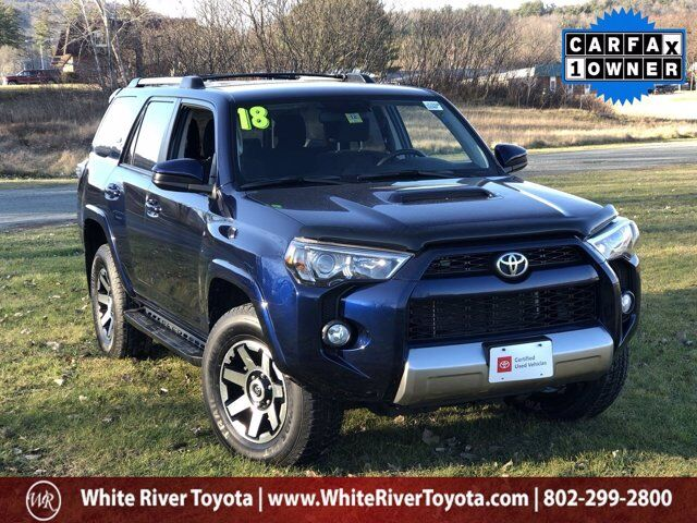 2018 Toyota 4Runner TRD Off-Road White River Junction VT