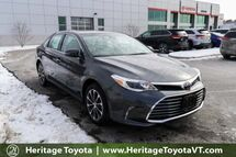 2018 Toyota Avalon XLE Premium South Burlington VT