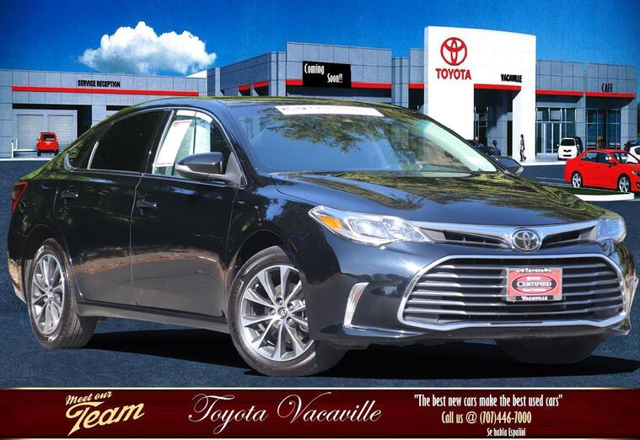 2018 Toyota Avalon Xle Sedan Vacaville CA