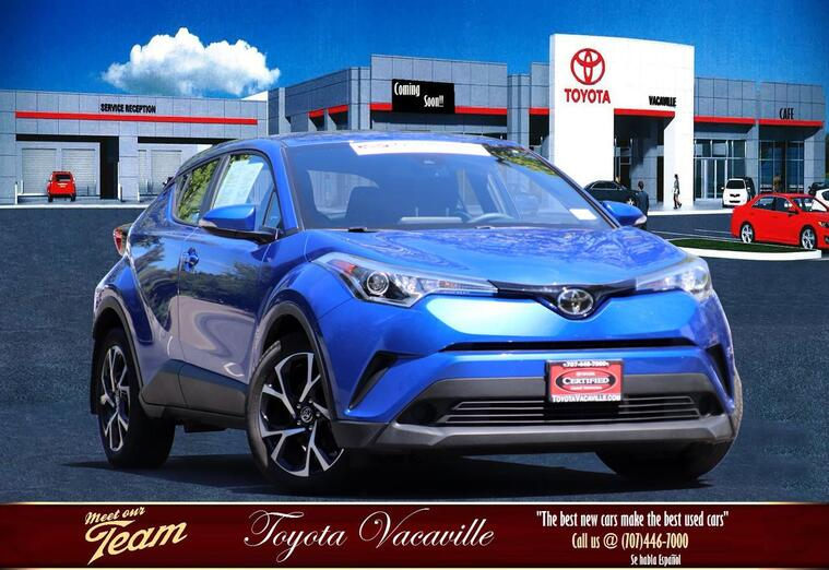 2018 Toyota C-hr Xle Sport Utility Vacaville CA