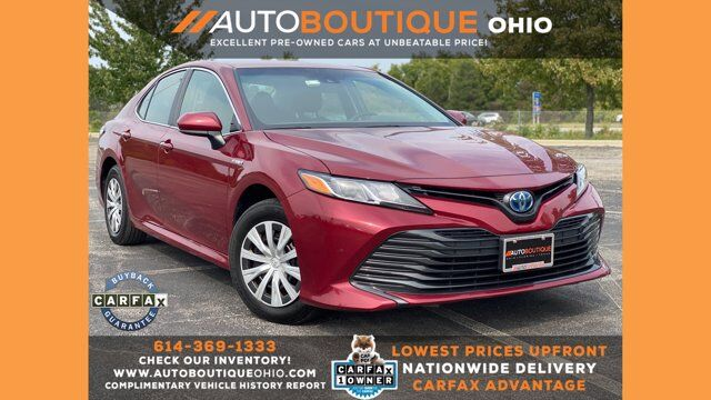 2018 Toyota Camry Hybrid LE Columbus OH