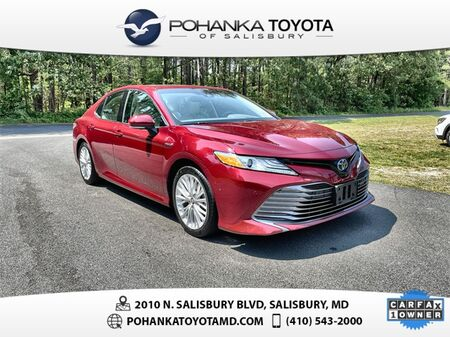 2018_Toyota_Camry Hybrid_XLE_ Salisbury MD
